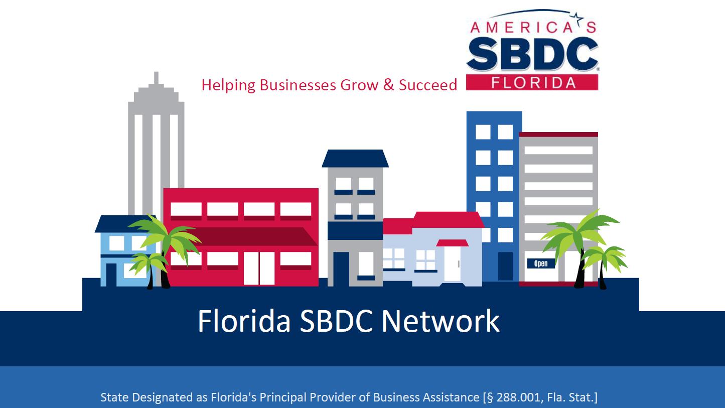 SBDC Grant info