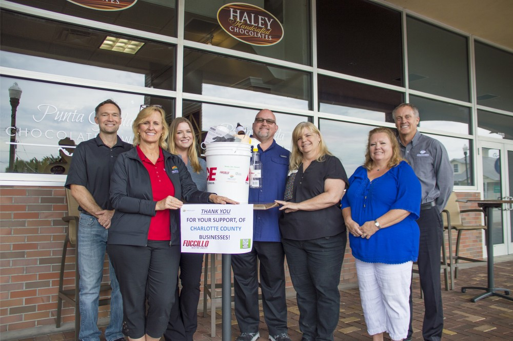 CHARLOTTE COUNTY ECONOMIC DEVELOPMENT OFFICE  DELIVERS NEEDED PPE TO LOCAL BUSINESSES image